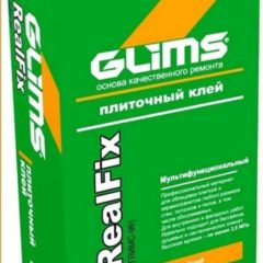 GLIMS-RealFix Клей для керамогранита усиленный (25 kg)