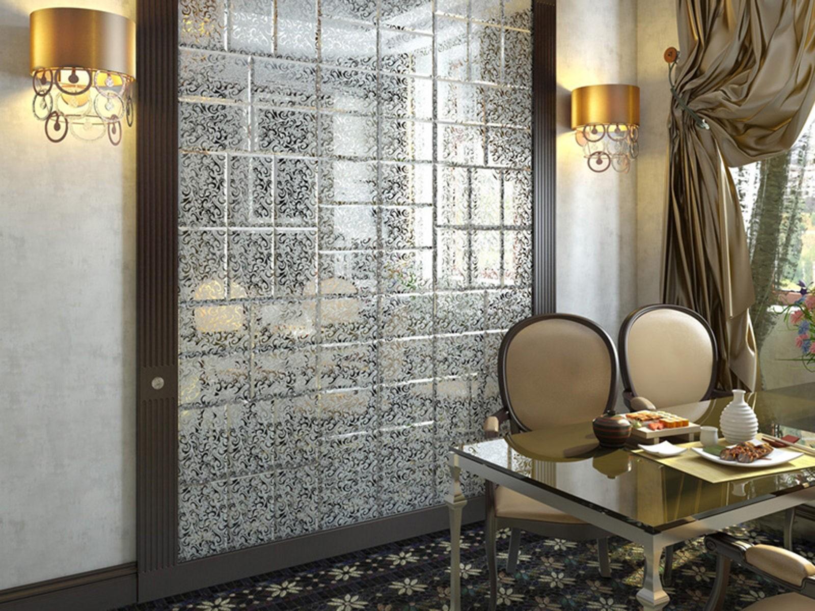 Декоративная зеркальная плитка
